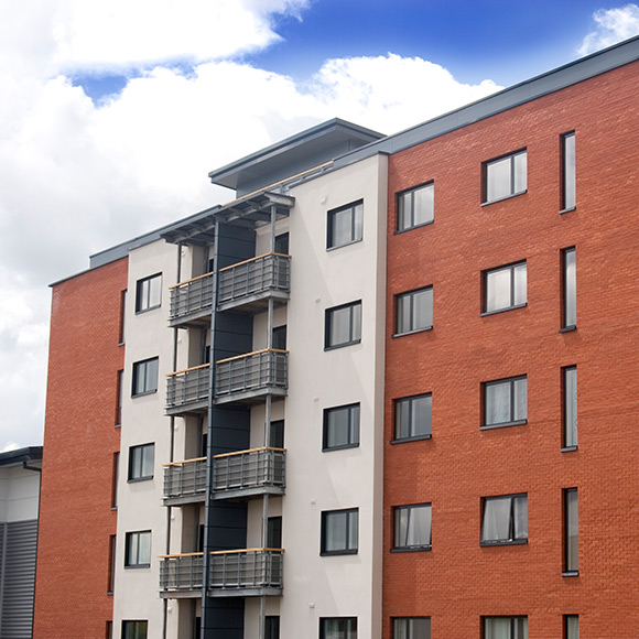 High rise flats to promote Powell Commercial Insurance Brokers - Property Owners Insurance