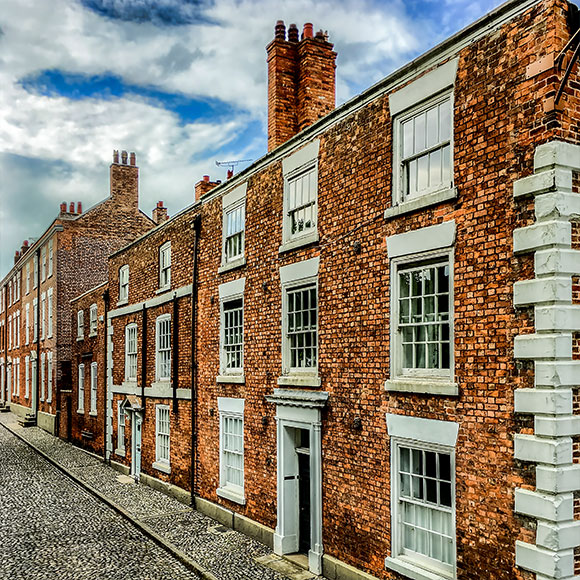 High Value terraced homes in Chester to promote Powell Commercial Insurance Brokers - High Net Worth Insurance