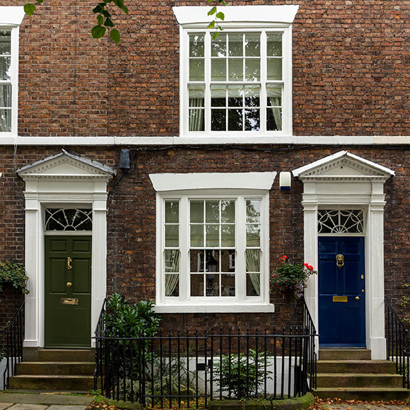 High value home doorways in Chester to promote Powell Commercial Insurance Brokers - High Net Worth Insurance