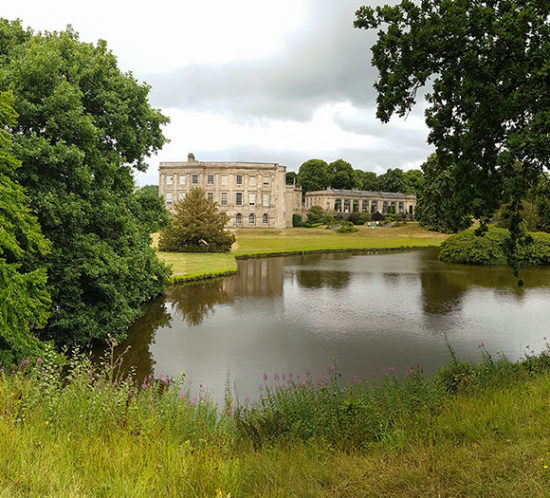 Grand stately home by a lake in Chester to promote Powell Commercial Insurance Brokers - High Net Worth Insurance